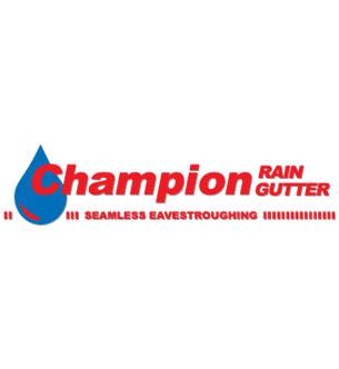 Champion Rain Gutters